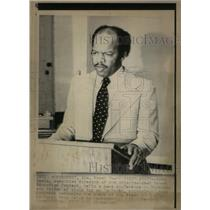 1975 Press Photo John Lewis Executive Director Atlanta - RRX27663