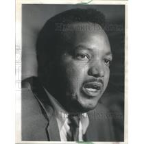 1966 Press Photo Frank Ditton South Side Civil Rights Group - RSC23517