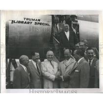 1956 Press Photo president truman - RSC45921