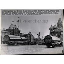 1964 Press Photo Intercontinental Ballistic Missiles - RRX62183