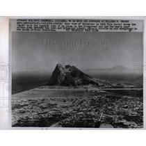 1966 Press Photo A View Of Gibraltar - RRX63873