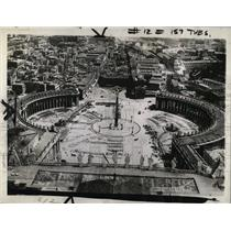 1936 Press Photo St. Peter's Square being repaved - RRX78279