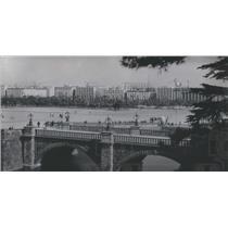 1989 Press Photo Nijubashi Bridge Main Entrance-Imperia