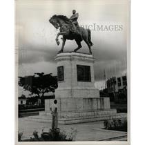1969 Press Photo Statue General Anastasio Somoza - RRX70615