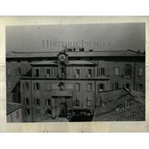 1934 Press Photo Castel Gandolgo Pope Vatican Villas