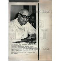 1967 Press Photo Chakravarti Rajagopalachari Indian - RRX37547