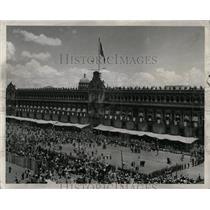 1954 Press Photo The National Palace Mexico City Square - RRX78025