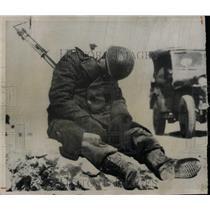 Undated Press Photo U.N. Soldier Near Seoul - RRX63717