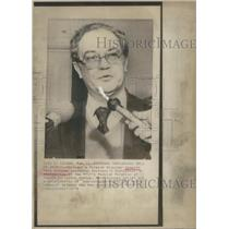 1976 Press Photo Portugal's Foreign Minister Ernesto Melo Antunes