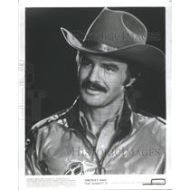 Press Photo Actor Burt Reynolds of Smokey and the Bandit II - RSC58363