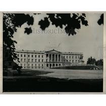 1940 Press Photo Royal Palace in Oslo, Norway At War - RRX78407