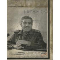 1975 Press Photo Gen. Otelo Saraiva de Carvalho & Frank Carlucci