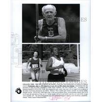 2001 Press Photo Fitness/Health/Elderly/PBS - RRX59983