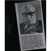 1963 Press Photo Venezuela Raul Leoni - RRX47679