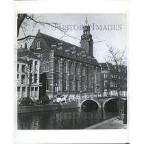 1975 Press Photo Netherlands Cities Leiden Water Tress - RRX89061