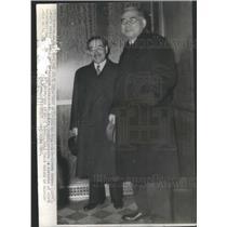 1941 Press Photo Saburo Kuruso & Amb Kichisaburo Nomura-Japan N US State Dpt