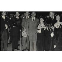 1933 Press Photo German Ambassador & family - RRW77363