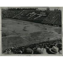 1933 Press Photo Crowd Waseda University Japan - RRX78235