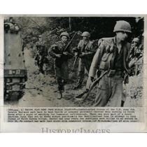 1963 Press Photo U.S. Army 8th Cavalry in Korea - RRX63757