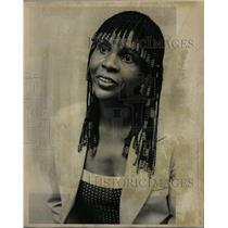 1980 Press Photo Bonnye Brown Actress - RRW17545