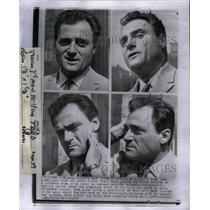1957 Press Photo Michael Todd Theatre Film Producer Det - RRX38333