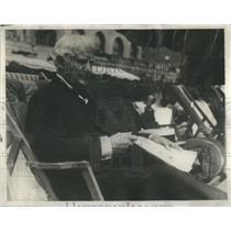 1929 Press Photo David Bclasco Atlantic Atlantic NJ Preliminary Famous Opening