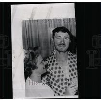 1963 Press Photo Miner Henry Throne
