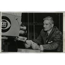 1954 Press Photo American Journalist Bill Leonard - RRW06595