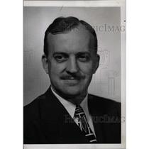 1945 Press Photo Boyd Lewis Europe News Manager Press - RRW74805