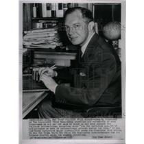 1952 Press Photo John M.Hightower awarded Pulitzer awar - RRX34185