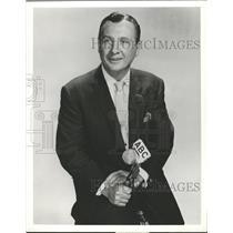 1959 Press Photo John Cameron Swayze News Commentator - RRW28105