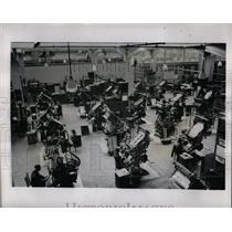 1947 Press Photo Communist Party Newspaper Pravda Type - RRX68425
