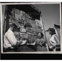 1959 Press Photo Fred Cyr Denver Chicago Trucking Co