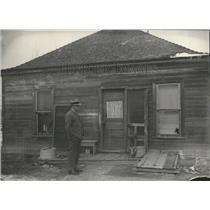 1932 Press Photo Scene shooting Fredrick Cello House - RRX82931