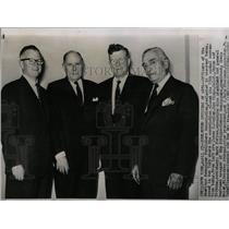 1961 Press Photo American Newspaper Publishers posed - RRW06075