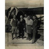 1931 Press Photo Wayne King orchestra leader Denver - RRX72705