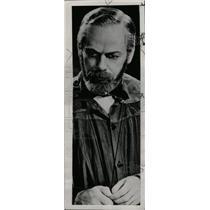 1936 Press Photo Actor Paul Muni Louis Pasteur Movie - RRW76765