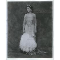 1985 Press Photo Eva La Gallienne The Swan Actress