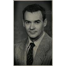 1952 Press Photo Harry Wayne Detroit News Television - RRW75579