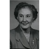 1956 Press Photo Neva Johnson News Employee - RRW95723
