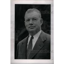 1947 Press Photo Lou R Maxon Detroit Advertising Man - RRX41055