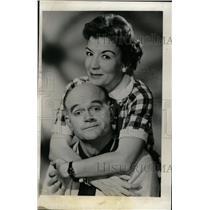 1959 Press Photo Bob Sweeney Actor Cathy Lewis Actress - RRW72425