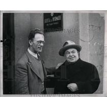 1951 Press Photo George Mattisic James Sweinhart writer - RRX51591