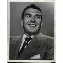1953 Press Photo Dennis James Television Personality - RRW08889