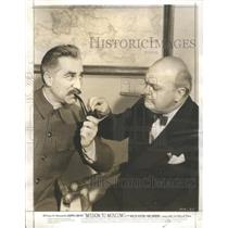1943 Press Photo Mannert Kippen Movie Actor Mission Moscow - RSC03951