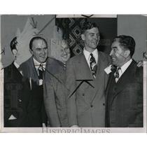 1948 Press Photo Detroit News Group Meeting Luby Fife - RRW02973