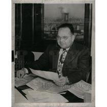 1949 Press Photo Walley New York municipal building - RRX36889