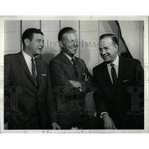 1962 Press Photo H Downs F Blair J Lescoulie Today Show