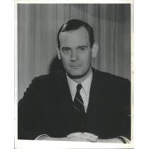 Press Photo Michael J. Murpy Newsman and Radio-Personality - RSC95491