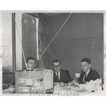1959 Press Photo John Dempsey Hebert Bauer  Frederic TV